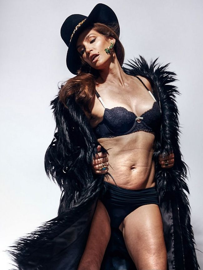 Cindy Crawford photoshop nélkül